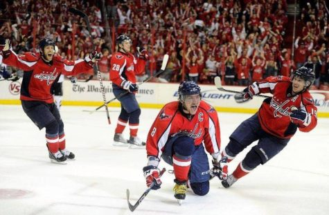 Caps Win President's Trophy to Secure Home Ice Through Play-Offs!