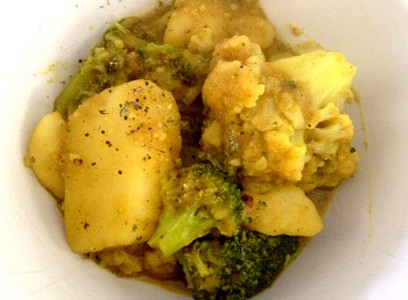 Cullinary Corner: Simple Vegetarian Curry