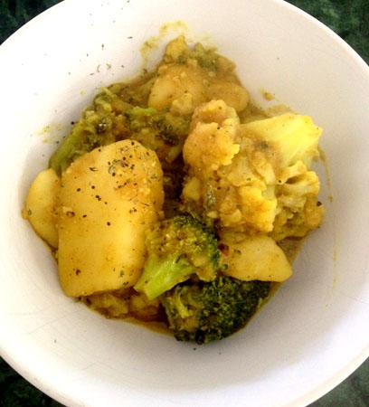 Cullinary Corner: Simple Vegetarian Curry