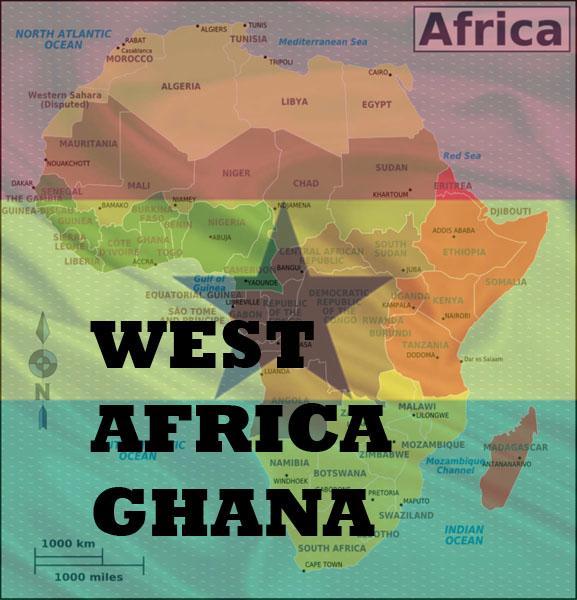Growing up in West Africa Ghana.