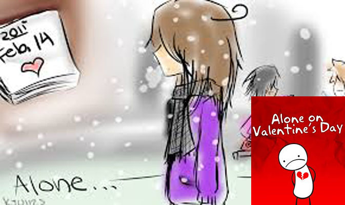 ALONE ON VAL'S DAY