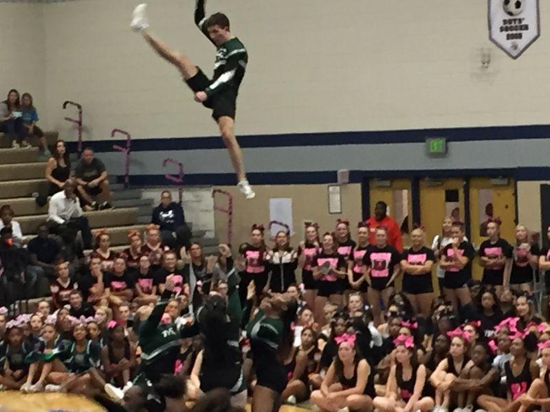 Tuscarora Places 5th at Cheer Invitationals