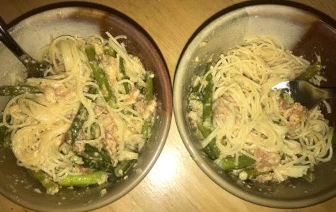 Culinary Corner: Prosciutto and Asparagus Pasta