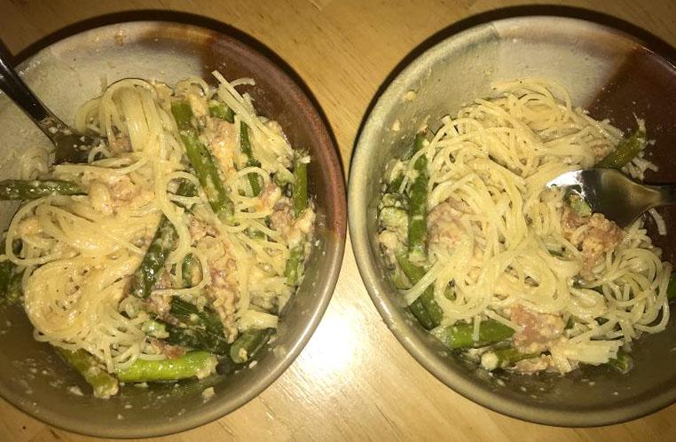 Culinary+Corner%3A+Prosciutto+and+Asparagus+Pasta