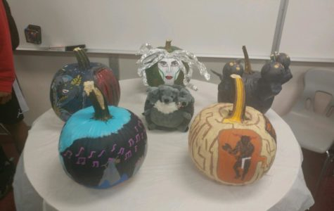 The Winner of The Pumpkin Painting Contest is…