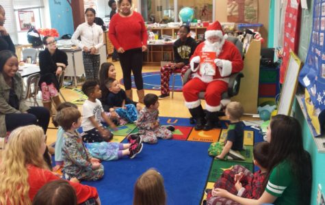 Santa Visits the Preschool!