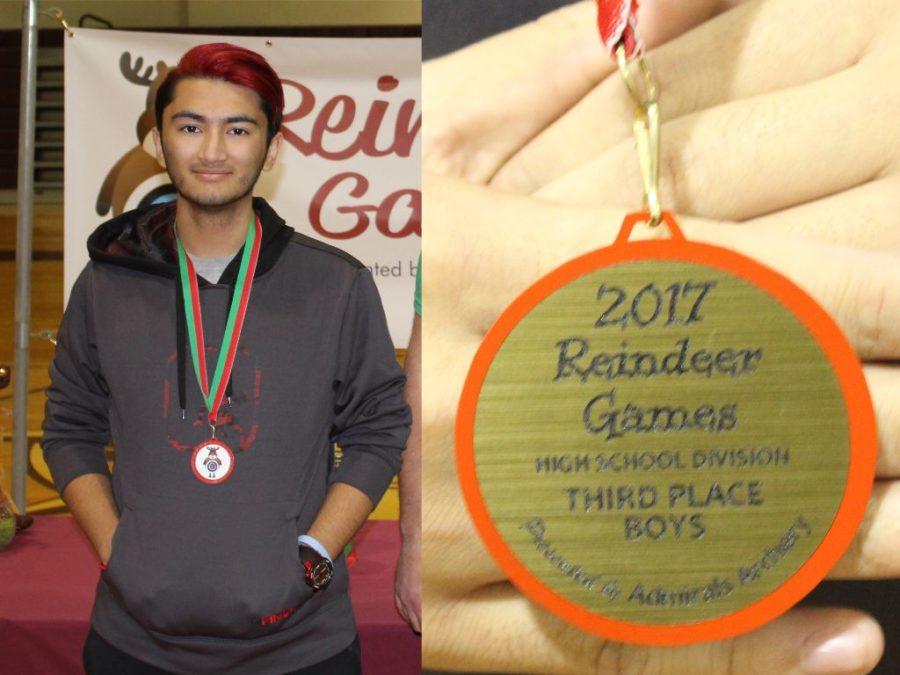 Ryan Vu Places Third at Reindeer Games