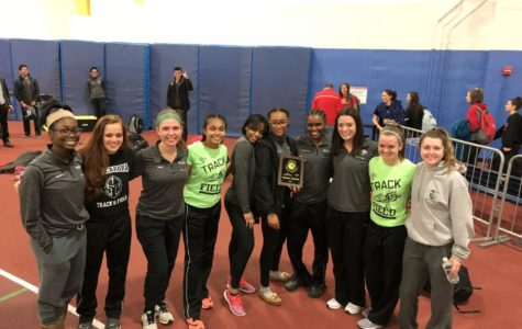Girls Indoor Track Wins Regionals