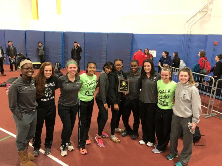 Girls Indoor Track Wins Regionals