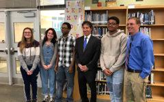 Congressman Jamie Raskin visits Tuscarora