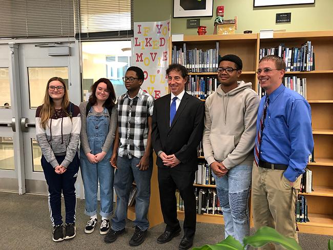 Congressman+Jamie+Raskin+visits+Tuscarora