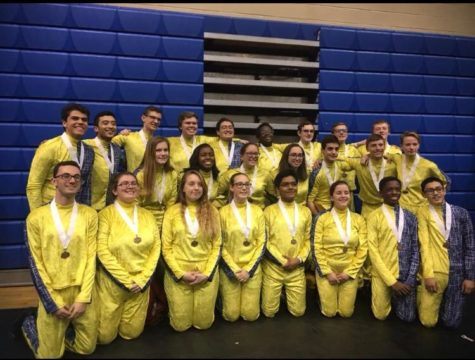 Indoor Color Guard and Percussion Championships