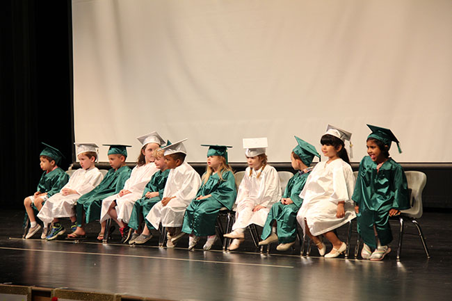 Tiny Titans Graduation Ceremony