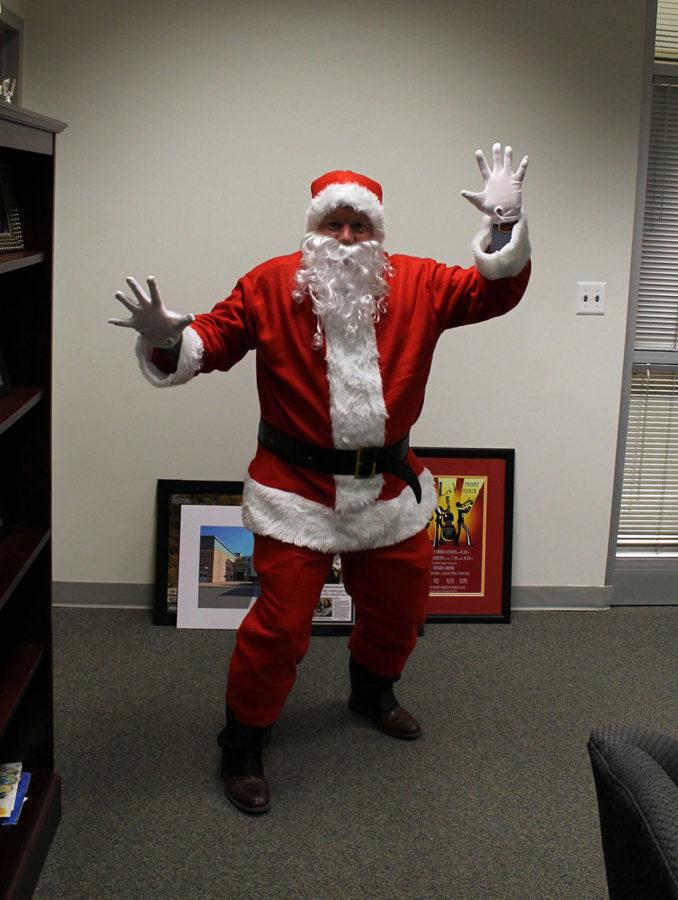 Santa lands at Tuscarora!