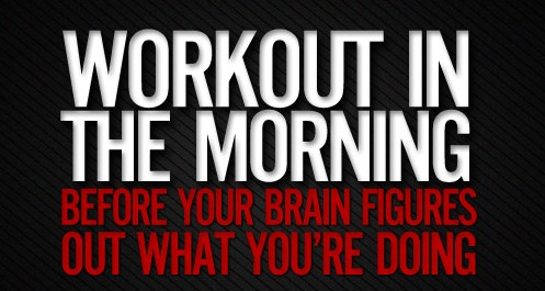 Weekly Health Tip: Morning Workouts