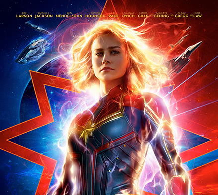 """Captain Marvel"" hits theaters, continuing Marvel's epic 21-film saga"