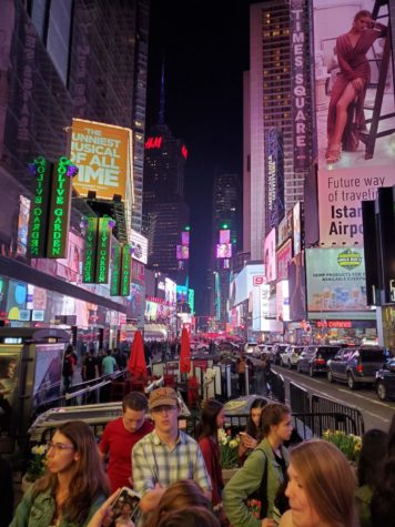 National Math Honor Society takes field trip to NYC