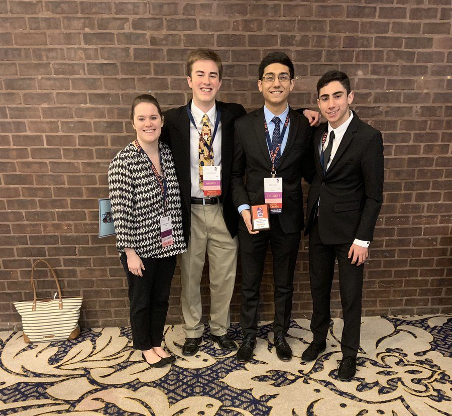 Members of THS FBLA go to state level competition