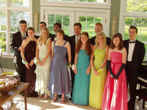 Prom Dress Evolution.