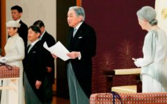 Japanese emperor abdicates throne for first time in over 200 years