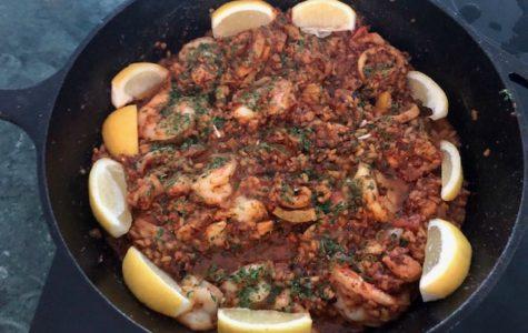 Culinary Corner: Homemade Paella