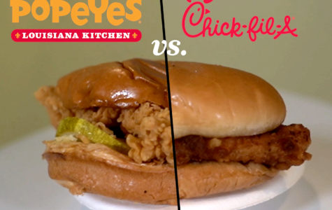 Popeye's vs. Chick Fil A's Chicken Sandwich