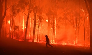 Unusual Bush Fires in Australia