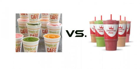 The great Smoothie debate: Tropical Smoothie vs. Smoothie King